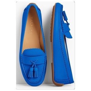 New Talbots Blue Loafers